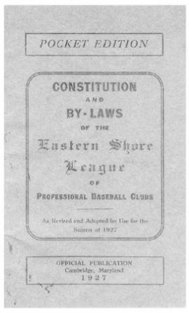 ESL rulebook