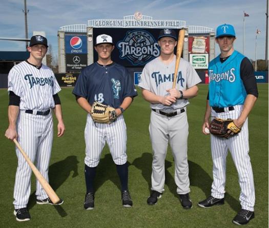 quality design 91901 cb816 Tampa Tarpons unveil uniforms – The Dutch Baseball Hangout