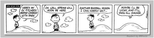 Peanuts baseball